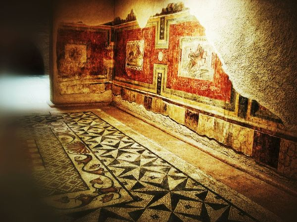 Art 2000 years ago Architectural Feature Architecture Art On The Walls Building Built Structure Day Decoration Design Historic Lumicar Mosaics No People Old Culture Old-fashioned Ornate Roman Tourism Travel Destinations Your Design Story