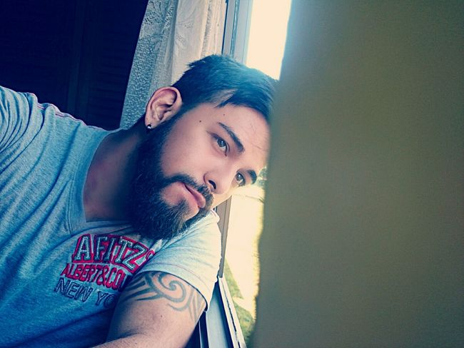 That's Me Selfie ✌ Today's Hot Look Respect Model Beard Tatto ✌ People Popular Portrait