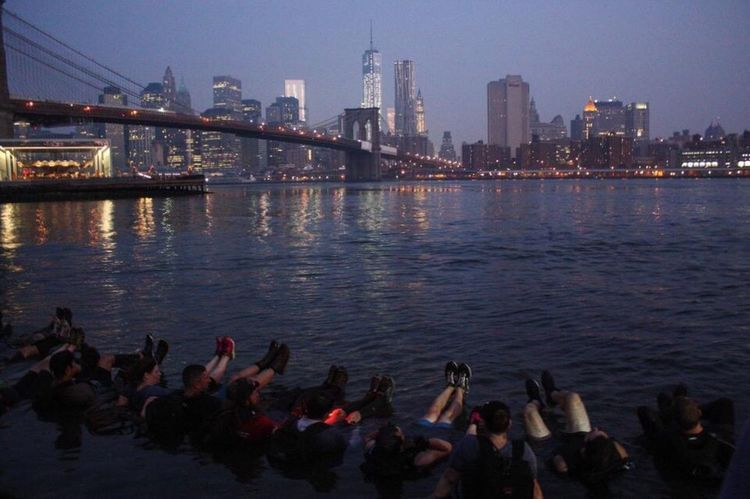 Eastriver Brooklyn Brooklyn Bridge / New York World Trade Center Architecture River Waterfront Goruck