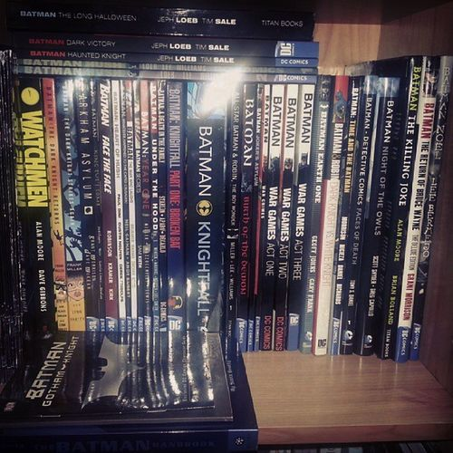 Batman Darkknight Graphicnovel Batmanfamily Joker Jimlee Grantmorrison Watchmen Collection