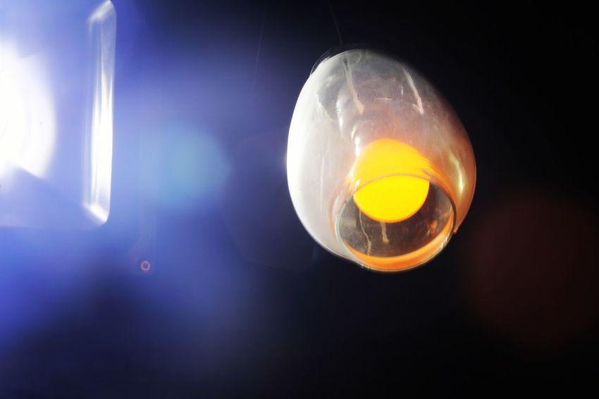 Egg Yolk Astronomy Yellow Space Jellyfish Close-up Sky