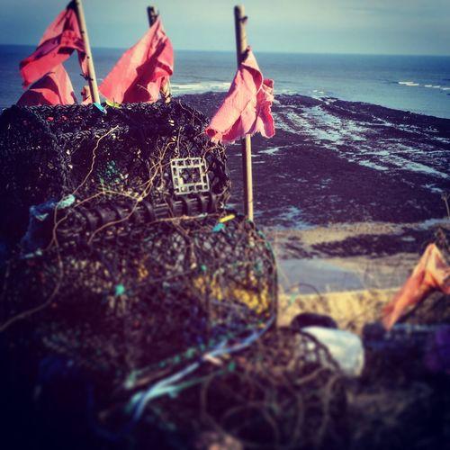 Lobster Pots Sea Outdoors Fishing Net