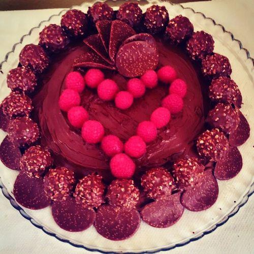 Dessert Cioccolato Fruit Delicious Made _by_me _bithday 🍰🍸