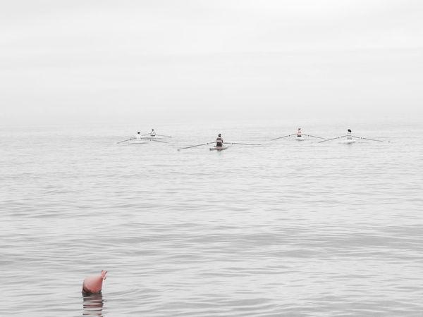 Palermo, Italy Rowing Target Ecosports Lightness Mondellobeach Sea Rowing