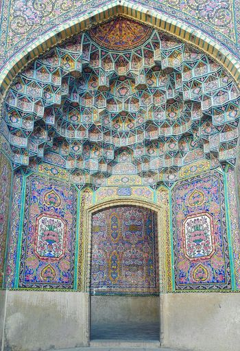 Mosque Iran Middle East Persian Irantravel Travel Travel Destinations Architecture Travel Photography Built Structure Religion Muslim Decoration Art