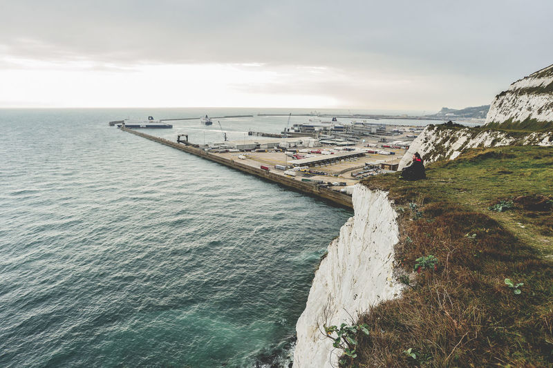 Cliffs Of Dover Dover Dover, England The Great Outdoors - 2017 EyeEm Awards Architecture Beauty In Nature Built Structure Cloud - Sky Day England Horizon Horizon Over Water Incidental People Land Nature Nautical Vessel Outdoors Rock Scenics - Nature Sea Sea And Sky Seascape Sky Tranquil Scene Tranquility Transportation Uk Water White Cliffs  White Cliffs Of Dover The Great Outdoors - 2018 EyeEm Awards