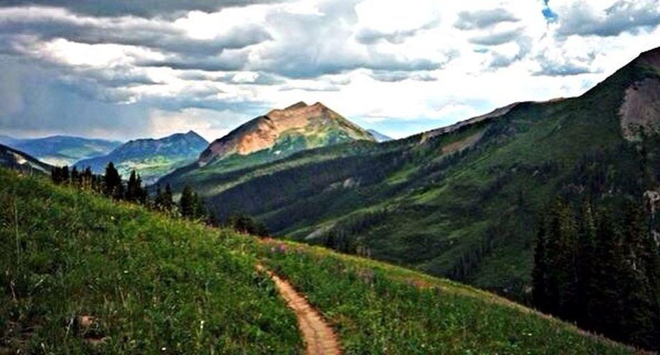 Mountain Biking Crested Butte 401 Trail Colorado
