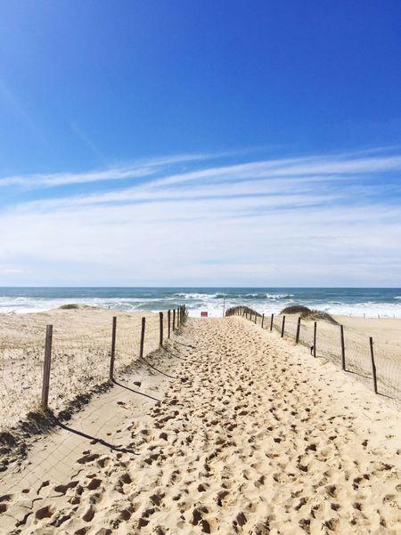 Sea Beach Land Water Horizon Over Water Horizon Sand