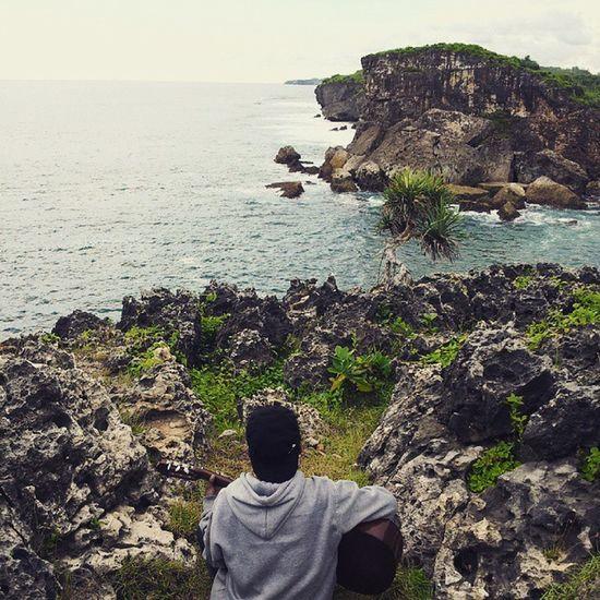 @adhitiasofyan - Blue Sky Collapse Pantai Krakal Yogyakarta INDONESIA