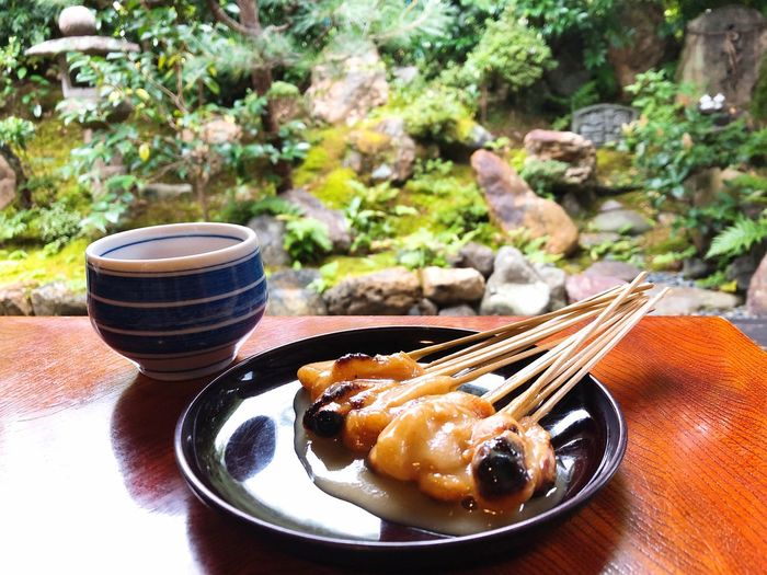 Dango Japanese Food Kyoto,japan Kyoto Food And Drink Food No People Freshness Plant Healthy Eating Nature