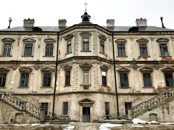 Castle Architecture Building Exterior Low Angle View Built Structure Abandoned Outdoors No People Day Sky