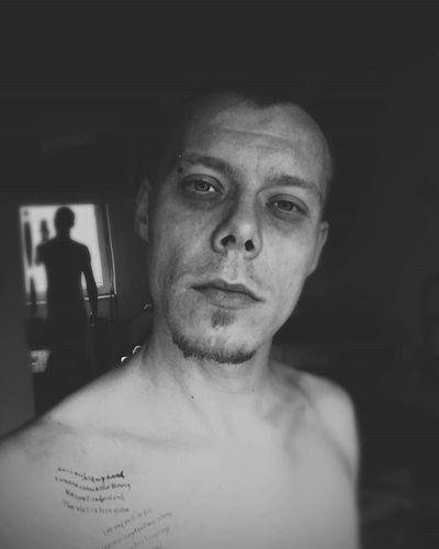 Selfie Boy Piercing Tatto Morning Blackandwhite Instamoment Instagood Instadaily Reflection New Now Photoofthedaya