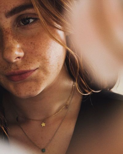 Romantic Jewelry Flower Petal EyeEm Selects Portrait One Person Young Adult Looking At Camera Headshot Young Women Front View Women Real People Beauty Close-up Human Face