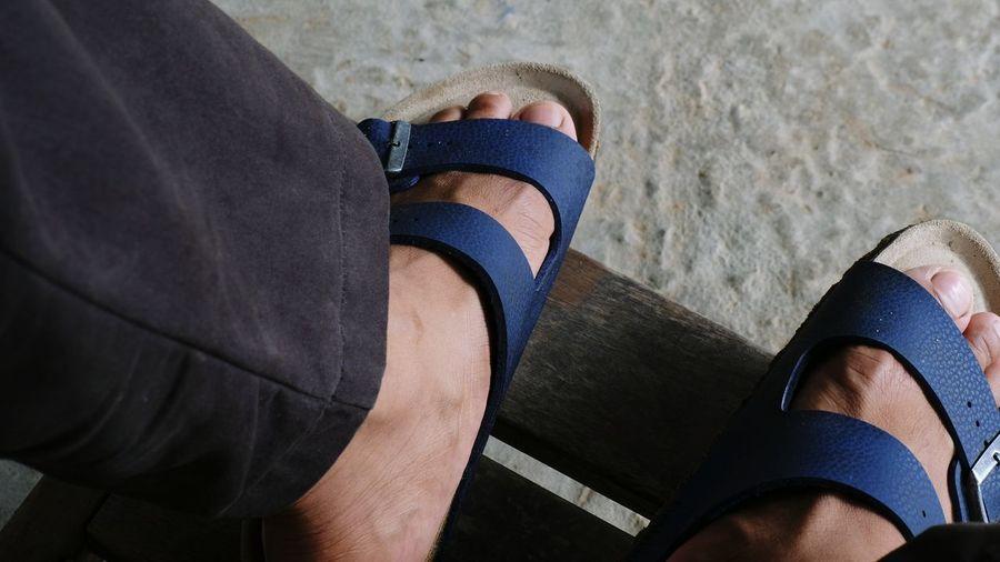 BIRKENSTOCK Men Human Leg Sock Beach Relaxation High Angle View Human Foot Shoe Lying Down Adhesive Bandage Wound Beaten Up Human Blood First Eyeem Photo EyeEmNewHere