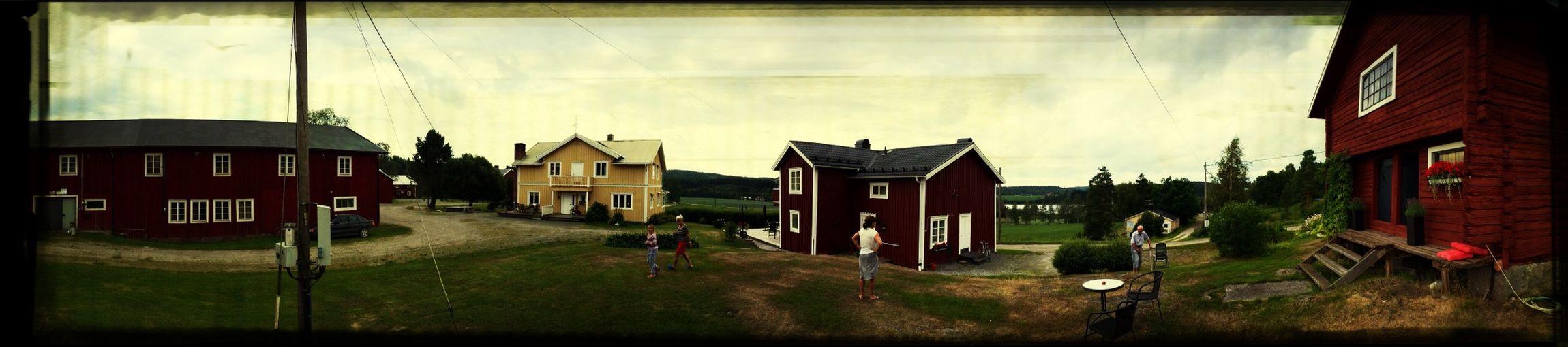 Gården där min mor växte upp.