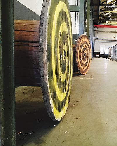 Reel Bobbin Windlass Winder Round Round And Round Colors Colorful Here Belongs To Me Wood - Material Wooden Wood Art WoodLand Old Buildings Check This Out Practicing My Point Of View Eye4photography  Urbanphotography Urban Vintage Industrial Industry Industrial Landscapes Things I Like