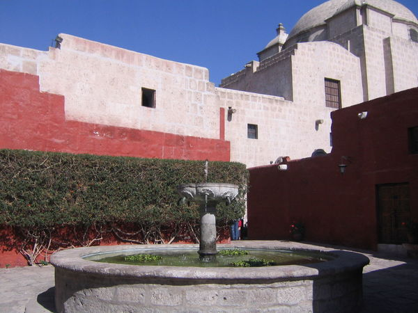 Architecture Arequipa Arequipa - Peru Building Exterior Built Structure Day Monastary Monasterio De Santa Catalina No People Outdoors Water