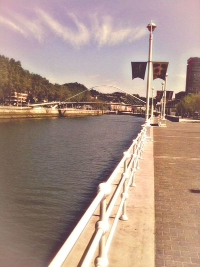 Bilbao Walk to the bridge. Relaxing Taking Photos Enjoying Life Crystal Clear