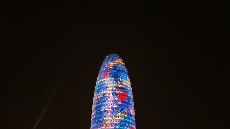 Torre Agbar Black Background Multi Colored Arts Culture And Entertainment Night No People Illuminated Sky Skyscraper Building Exterior Buildings & Sky Architecturephotography Arkilife Arkiporn Arkiromantix Architectureporn Architecturelovers Arkitektur Urban Photography Urban Skyline Lookingupatbuildings Architecture_collection
