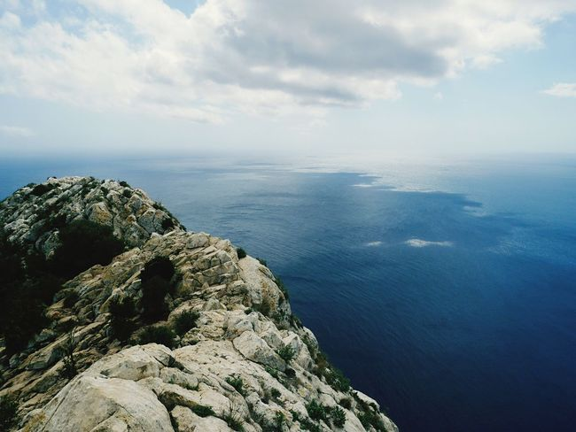 Sea Nature Water Scenics Beauty In Nature Horizon Over Water Sky Tranquility Tranquil Scene Cloud - Sky Day Outdoors No People Mountain Hiking Calpe Alicante España Calp Calpe SPAIN Beauty In Nature Holiday Landscape Nature