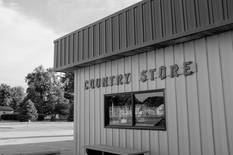 Visual Journal July 2017 Plymouth, Nebraska Camera Work Everyday Lives Nebraska Photo Essay Reflection Rural America Rural Lifestyle Storytelling Visual Journal Always Taking Photos Architecture B&w Photography Building Exterior Built Structure City Day No People Outdoors Photo Diary Rural Life Rural Living Sky Small Town Stories Tree