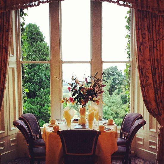 Beautiful breakfast view Lifeonthefly Scotland Outlandish @TheOnlyLiza