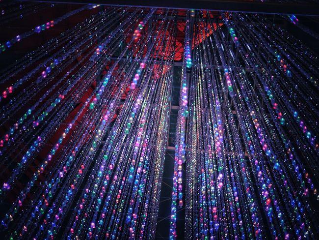 OMG 😬Why Did I Take Such One😔 OMG full of the Stars. Chrismas Lights Lookingup InnerBeauty ArchiTexture Team Lab キャナルシティ 博多 Canal City Hakata Illumination Led Lights  Fukuoka,Japan DECEMBER2015 / 50mm 1.8
