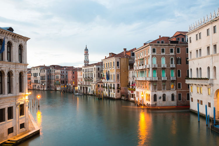 Architecture Travel Destinations Mode Of Transportation Nautical Vessel Canal Building Exterior Built Structure Water City Transportation Waterfront Italy Venice, Italy Venice Venetian Lagoon Canals And Waterways
