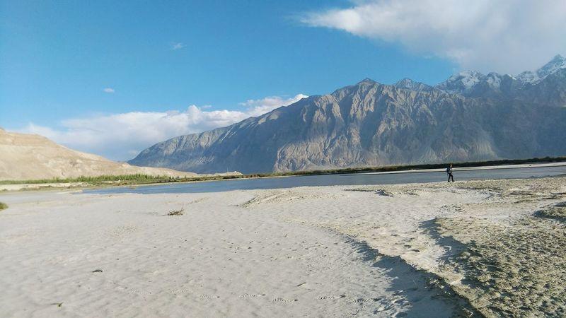 NubraValley Desert Riverindesert Life Beauty Earth Cloud - Sky