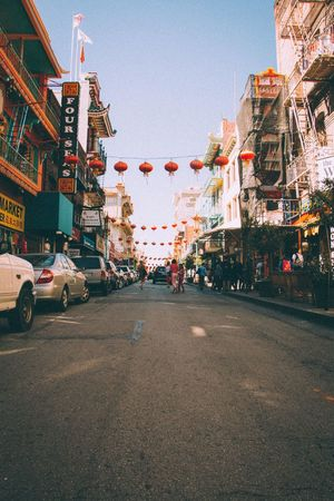 Chitown. Chinatown San Francisco Sanfrancisco Conquer_ca Architecture Built Structure Building Exterior Outdoors City Sky Day No People Cityscape