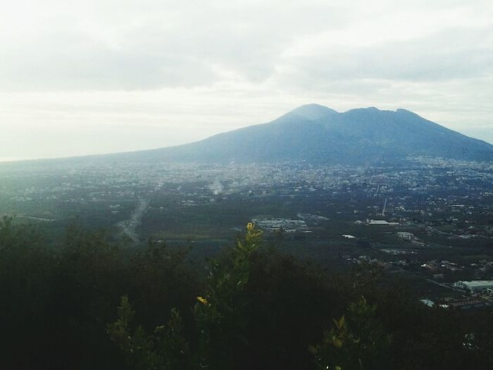 It's A Beautiful Day :) Hello World Naples Vesuvio