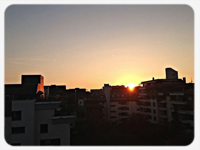 Sunset Stuttgart