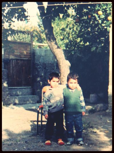 Childhood Memories Orange Tree Best Friends Forever  1990s