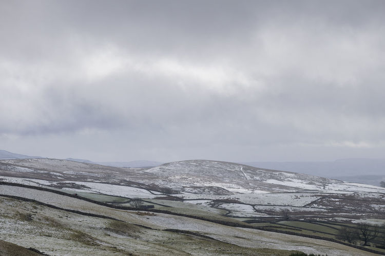 Beauty In Nature Cloud - Sky Cold Temperature Landscape Mountain Nature No People Outdoors Scenics Snow Tranquil Scene Tranquility Winter Yorkshire Dales