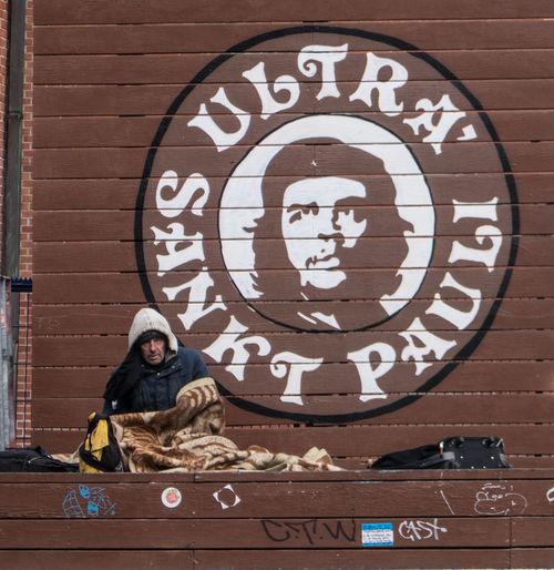 Che Guevara Mural Hamburg Sankt Pauli Fleamarket Germany Harboor Hobo People