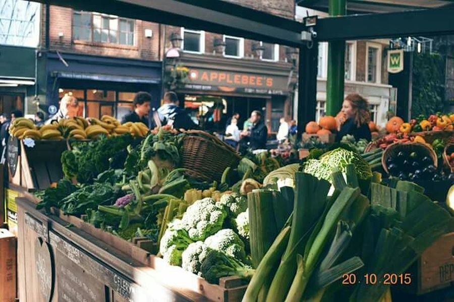 Borough Market London Farmersmarket Food Freshvegetables