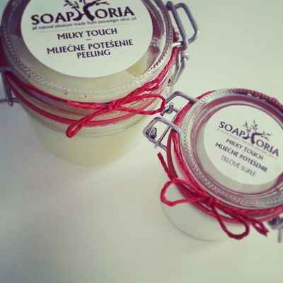 Biobeautysk Soaphoria Prirodnakozmetika Peeling telovesufle telovemlieko mliecnepotesenie aromavanilkakokos followme madeinslovakia 858
