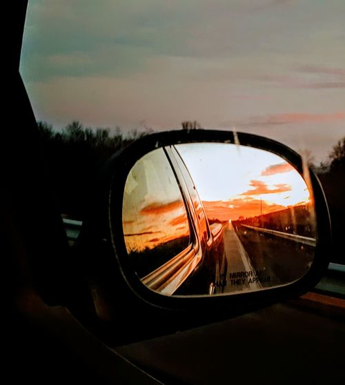 One word. Oklahoma. Gotta love a fly over state. Car Transportation Side-view Mirror Road Reflection Mode Of Transport Sunrise - Dawn Be. Ready. OklahomaStrong 3XSPUnity EyeEm Selects Food Stories The Graphic City