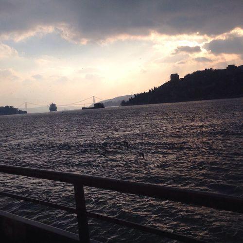 İstanbul Boğaz'ı... Hello World