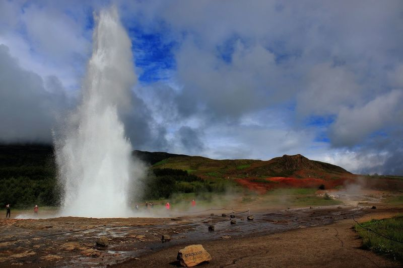 Strokkur geyser Landscape_Collection Travel Photography Streamzoofamily Iceland