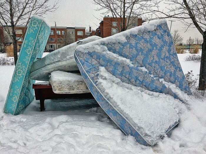 Winter Mattress Park Streetphotography