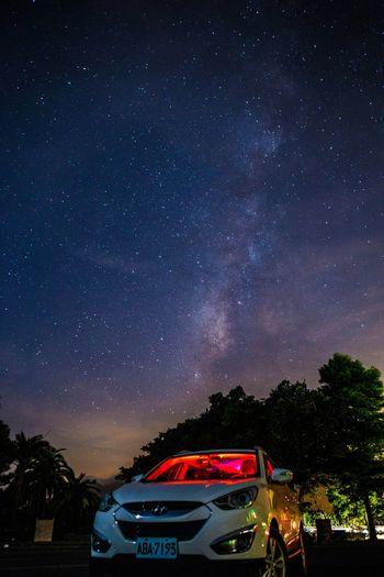 東澳休息站銀河