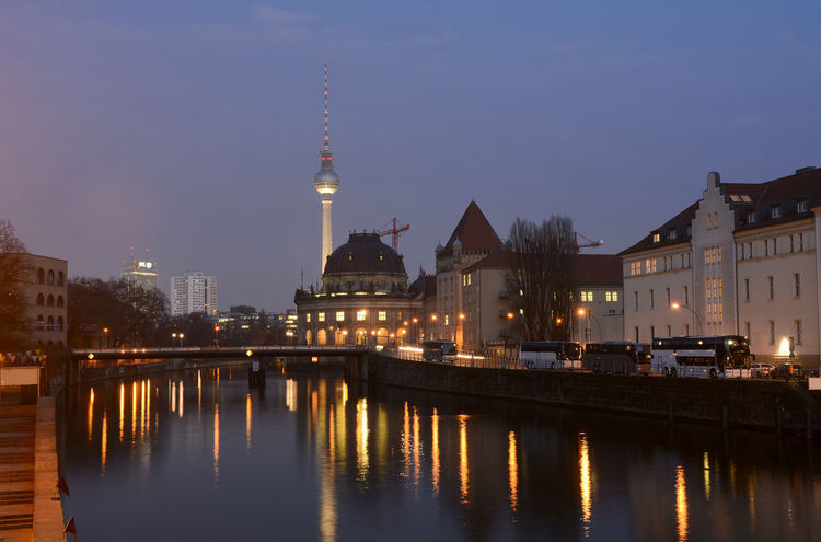 cityscape berlin Architecture Berlin Bode Museum Capital Cities  City City Life Cityscape Cityscape Evening Illuminated Museum Island Night No People Outdoors Reflection River Sky Spree Television Tower Tourism Travel Destinations Water