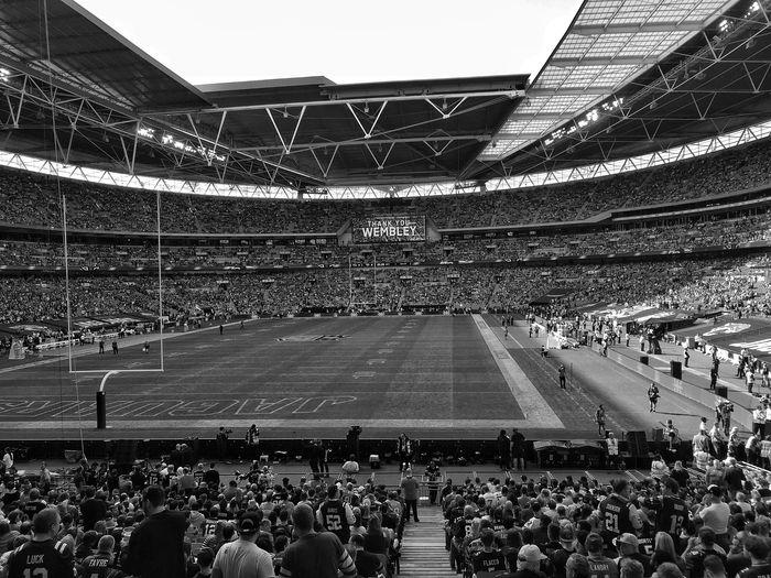 Stadium Sport Football NFL NFL Football London Jaguars Ravens Germany Blackandwhite Blackandwhite Photography Sony A6000