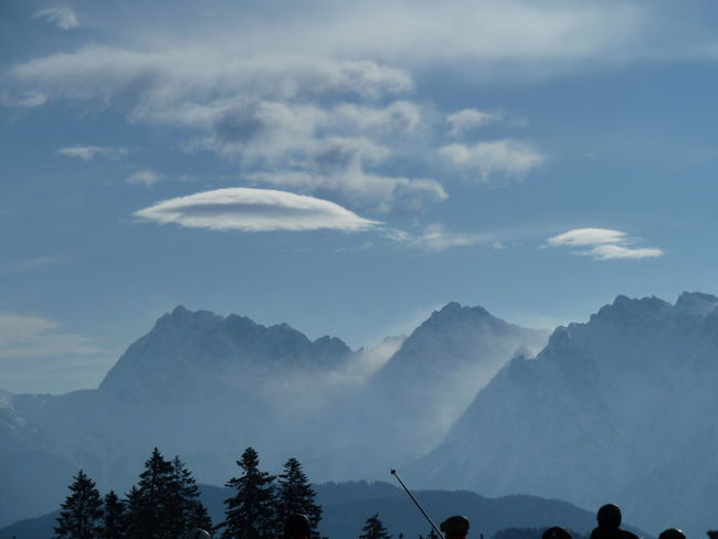 Ufo Clouds Beauty In Nature Cloud - Sky Day Landscape Mountain Nature Outdoors Scenics Sky