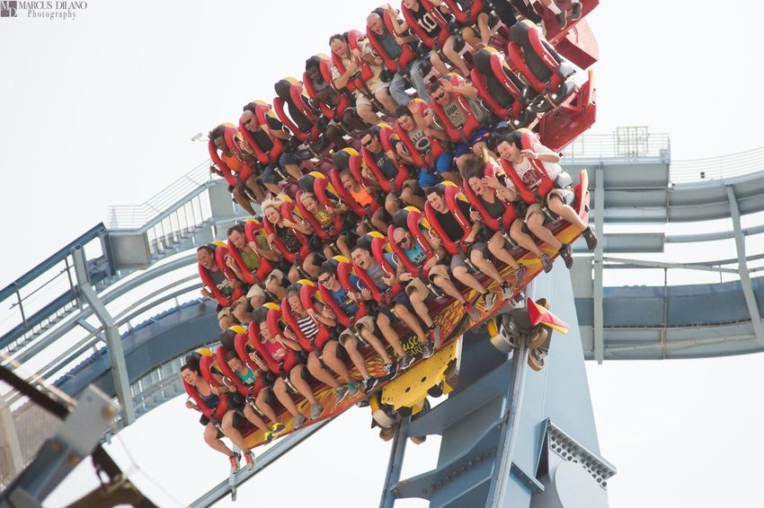 The Griffon Fun Roller Coaster Buschgardens Thrilling Funtimes People Watching People Photography Popular Photos