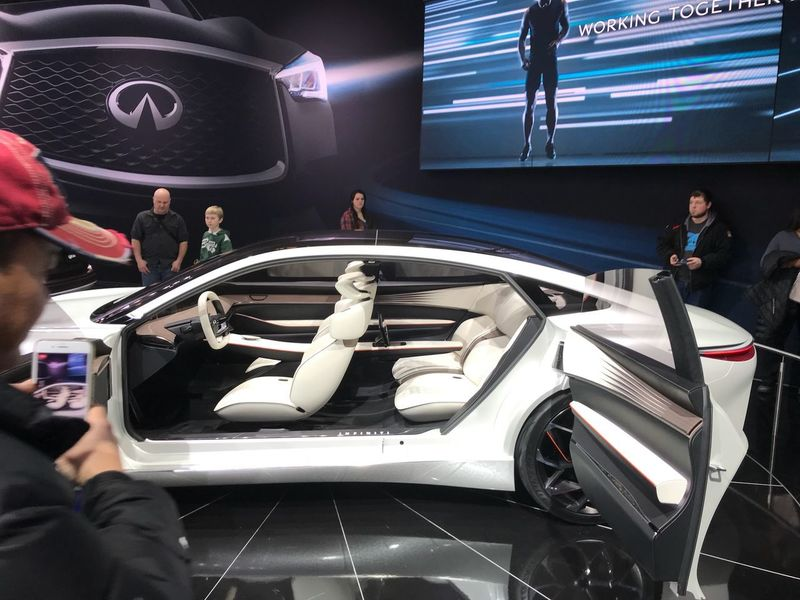 Future Infiniti Chicago Auto Show Car Show Futur Cars Car Transportation Real People Women Men Luxury Technology EyeEmNewHere