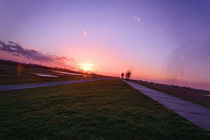 Dangast Northsea Germany Landschaft Landscape Sunset Sun Sonnenuntergang Saschade.net Saschade http://saschade.net