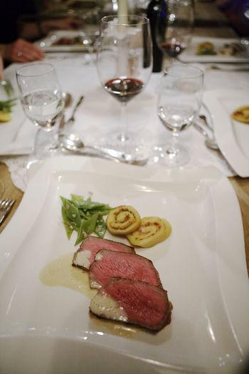 Abundanceof Food Austrian Hotel DELICIOUS FOOD ♡ Fabulous Fine Wines Great Presentation Meatpacking District Porcelain  Sensational Venison