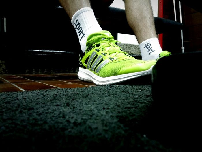 Adidas Allin Sport Fitness Friend Gym Gym Time Sneakers Green Lime Fluroscent Mobilephotography Photography Photo By Me Commercial WOW Adidas Sponsor Me Haha Free Publicity